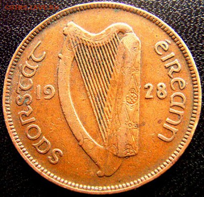 Ирландский пенни 1928; до 27.04_22.42мск - 9958
