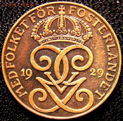 Швеция_2 эре 1929; до 27.04_22.52мск - 9976