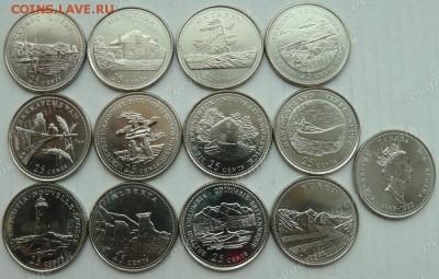 Канада. 1992. 25 центов. Провинции и Территории Канады. 12 монет. UNC - ca_25cents_1992_provinces