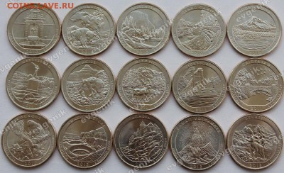 Польша-2017 ИндустрРайон -США-КАНАДА-2017-РФ-Порту-Казах- - us_set_025_cents_quarters_parks_n01_n15_2010_2012_15pcs_img
