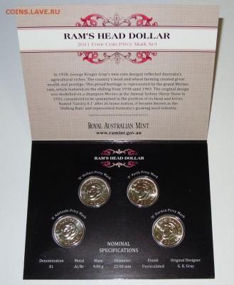 Блокада29р Конституция 95Ну погоди450Армия320,1е муль1050 - 2010 Australia Privymark $1 Uncirculated Four Coin Set - 2nd Release 1- 19.99