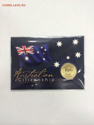 Блокада29р Конституция 95Ну погоди450Армия320,1е муль1050 - 2016 Australian Citizenship $1 Uncirculated Coin - Perth Mint 13.95