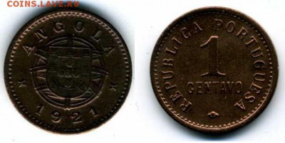 Португальские колониии. - А1