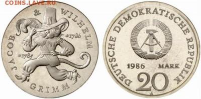 Кошки на монетах - ГДР-1