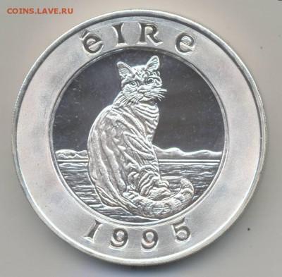 Кошки на монетах - Пьедфорт-1