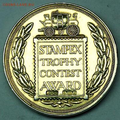 Наградная британская медаль. Серебро 43 гр. До 03.08_22.14мс - 7692