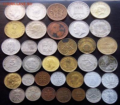75 разных зарубежных монет (см. описание). До 01.09_22.34мс - 3