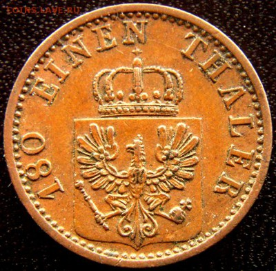Германия. Пруссия_2 пфеннига 1868; до 01.09_22.44мск - 12329