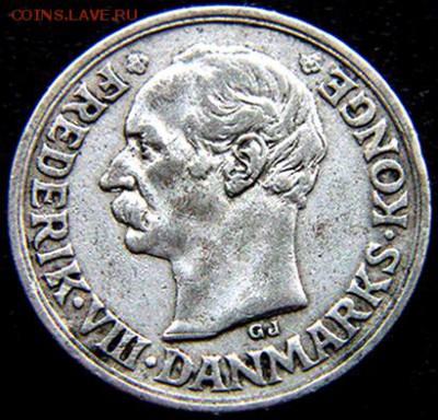 Дания_10 эре 1910. Серебро; до 01.09_22.46мск - 10733
