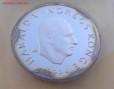 Норвегия 100 крон 1993 Олимпиада катание (07.09) с рубля - IMAG2523