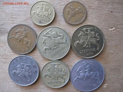 Литва 8 монет подборка - IMG_5063_thumb