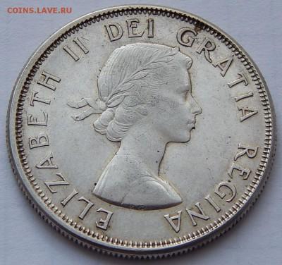 Канада 50 центов 1964 Елизавета II, до 30.09.16 в 22:00 МСК - 4050.JPG
