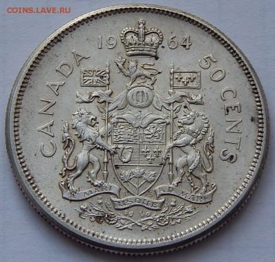 Канада 50 центов 1964 Елизавета II, до 30.09.16 в 22:00 МСК - 4049.JPG