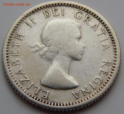 Канада 10 центов 1956, до 30.09.16 в 22:00 МСК - 4036