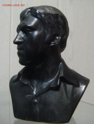 Бюст В.В.Высоцкий,силумин, короткий аук - DSC05259.JPG