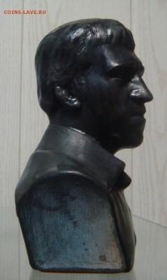 Бюст В.В.Высоцкий,силумин, короткий аук - DSC05256.JPG