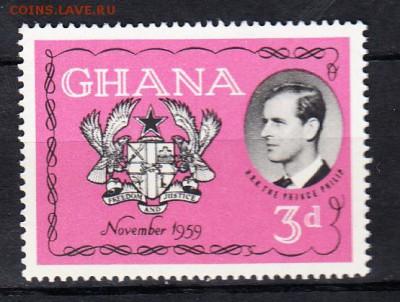 Колонии Гана 1959 1м - 133
