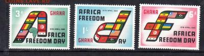 Колонии Гана 1960 3м - 139