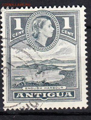 Колонии Антигуа 1953 1м 1ц - 87