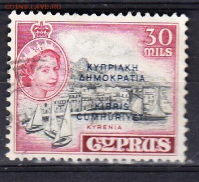 Колонии Кипр 1960 1м 30м - 316