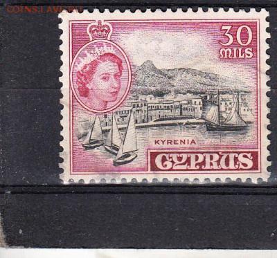 Колонии Кипр 1955 1м 30м - 320