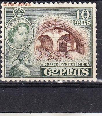 Колонии Кипр 1955  1м 10м - 322