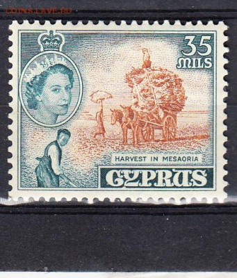 Колонии Кипр 1955  1м 35м - 323