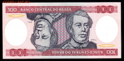 Бразилия 1984 100крузейро пресс до 26 10 - 969