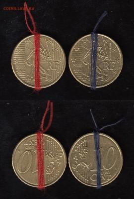 браки на евро монетах - 10_ец_Франция_2009_а_б