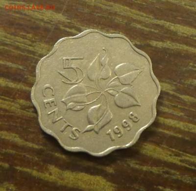 СВАЗИЛЕНД - 5ц ЦВЕТОК волнистая 1998 до 1.11, 22.00 - Свазиленд 5 ц 1998 Цветок
