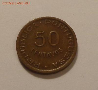 ПОРТУГ. АНГОЛА - 50с. 1954 до 1.11, 22.00 - Португ. Ангола 50 сентаво 1954_1