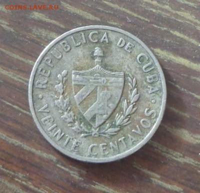 КУБА - 20с ХОСЕ МАРТИ до 1.11, 22.00 - Куба 20 сентаво 1968_1