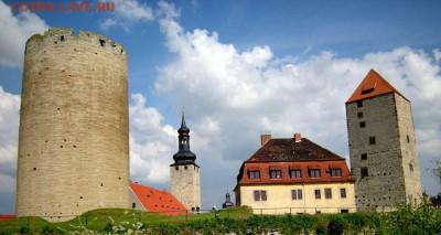 «Толстый Генрих», «Парижская башня»,  «Башня пыток» - Замок Кверфурт