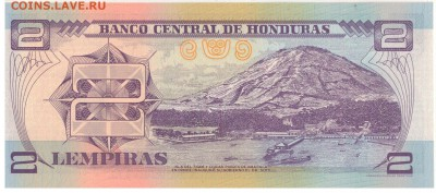Гондурас 2 лемпира 2012 до 07.11.16 в 22.00мск (В476) - 1-1гон2