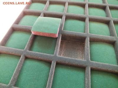 Планшет для пуговиц 42 шт. темно-зелены, до 22:00 5.11.16 - 6