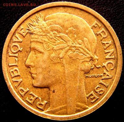 Франция_2 франка 1938; до 05.11_22.05мск - 11203