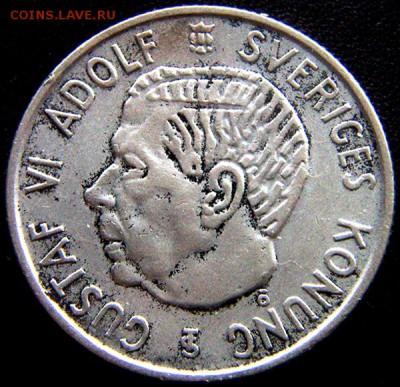 Швеция_2 кроны 1954. Серебро; до 05.11_22.13мск - 11232