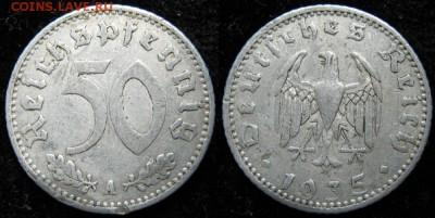 Германия 50 пфеннигов 1935 А: до 14-11-16 в 22:00 - Германия 50 пфеннигов 1935 A     156-1-1706