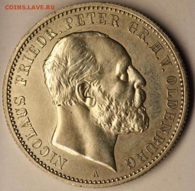 Коллекционные монеты форумчан , Кайзеррейх 1871-1918 (2,3,5) - image