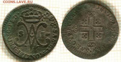 Сардинское Королевство - Сардиния 1 сольдо 1783 KM-66 315 A-R