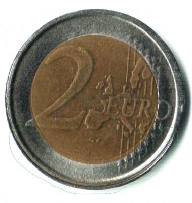Оцените брак 2 евро Италии - 2 евро Италии брак