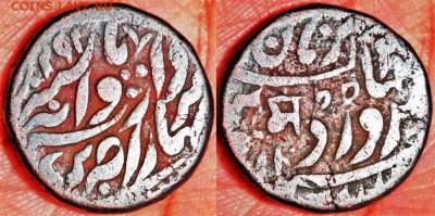 Колониальная Индия. - Индийское Княжество Джодхпур 1-4 анны 1910