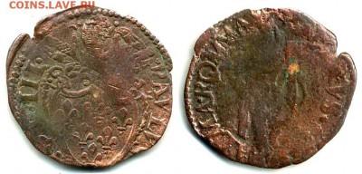 Павел III - Ватикан 1 кватрино 1534 Mint Macerata (Marche) Ref CNI 74-82