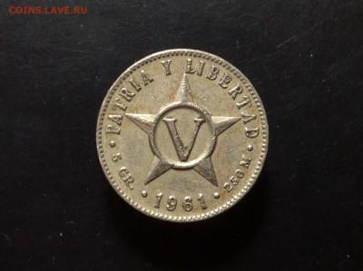Куба 5 сентаво 1961 - image