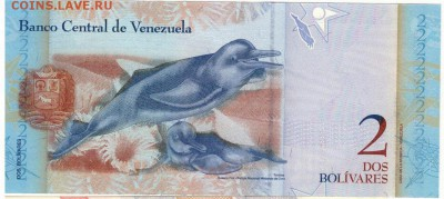 Венесуэла 2 боливара 2012 до 28.11.16 в 22.00мск (Г417) - 1-1вен2