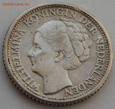 Нидерланды 25 центов 1944, до 08.12.16 в 22:00 МСК - 4538