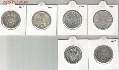 Предпродажная оценка монет Германии - 1а