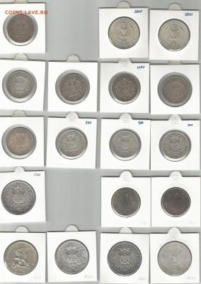 Предпродажная оценка монет Германии - 2