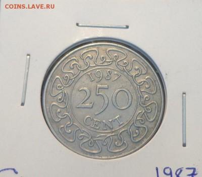 СУРИНАМ - 250 центов 1987 г. до 23.12, 22.00 - Суринам 250 ц 1987_1