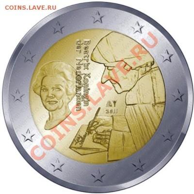 Юбилейные и памятные 2 евро 2011 - ... гг - niederlande_2011_gross